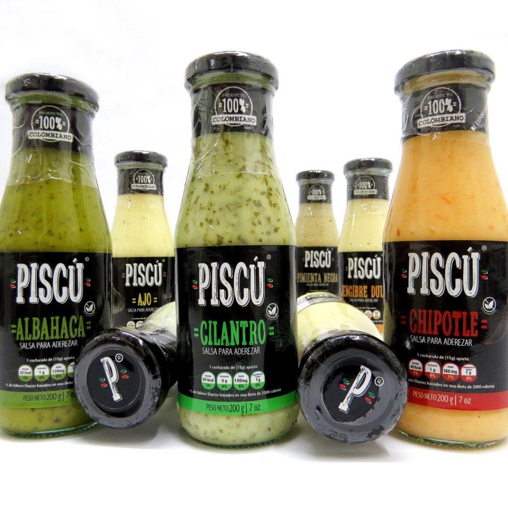 Salsas Gourmet PISCÚ